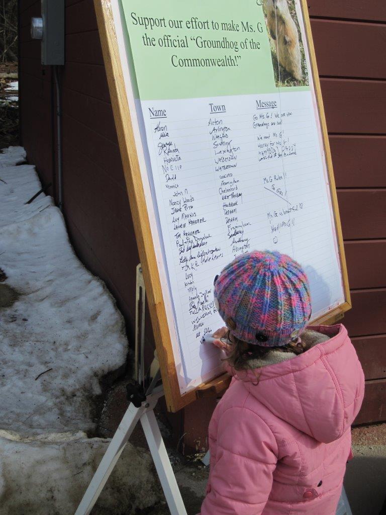 Preschool Students Celebrate Groundhog Day 2010